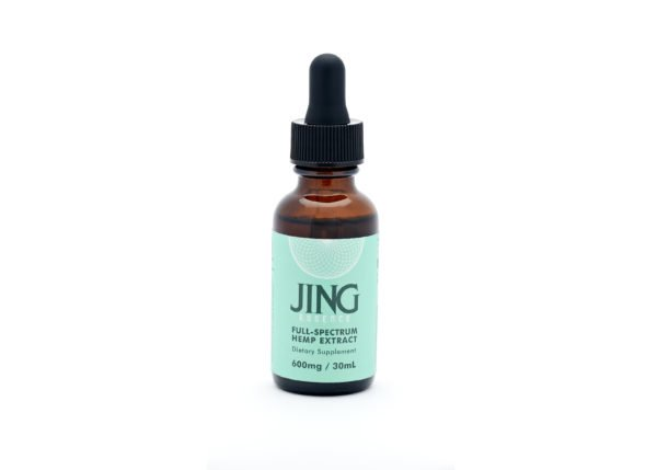 Jing Full-spectrum hemp extract oil, 600mg