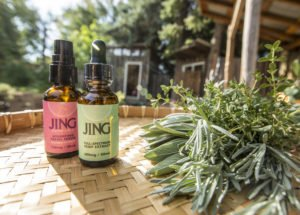 Jing with herbs